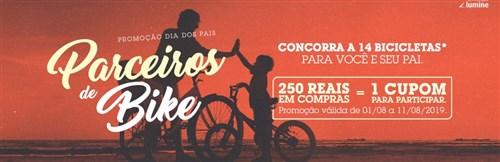 Promoção Dia dos Pais - Parceiros de Bike