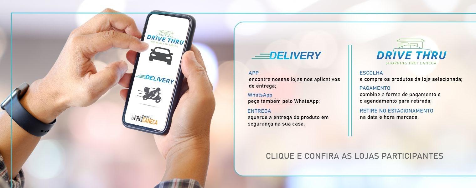 Banner Delivery e drive - Desktop