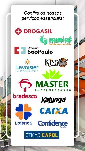 Banner Serviços essenciais - Mobile