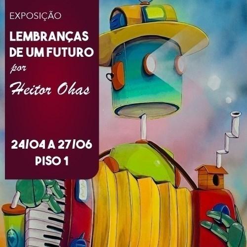 Futuro é tema de exposição em Shopping Frei Caneca