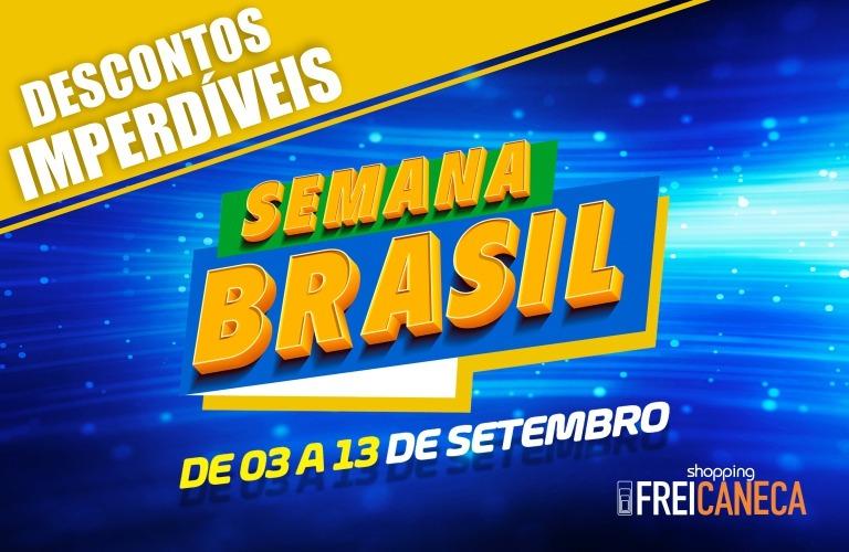 Shopping Frei Caneca participa da Semana do Brasil