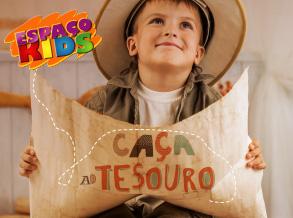 Caça ao Tesouro é tema de oficina infantil do Shopping Frei Caneca
