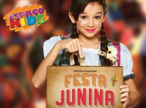 Arraial Kids diverte a criançada no Shopping Frei Caneca