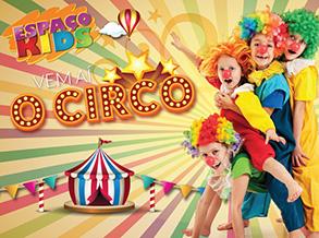 """""""Aí vem o Circo"""" é tema de oficina infantil do Shopping Frei Caneca"""