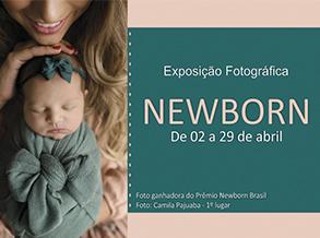 Shopping Frei Caneca recebe Exposição fotográfica Newborn Brasil
