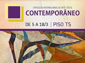 Shopping Frei Caneca recebe Exposição Internacional de Arte Têxtil