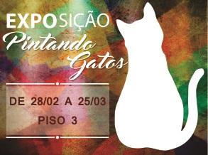 Gatos ganham mostra assinada por artistas plásticos, ilustradores e cartunistas