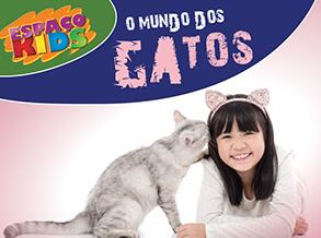 Gato é o tema da oficina infantil do Shopping Frei Caneca