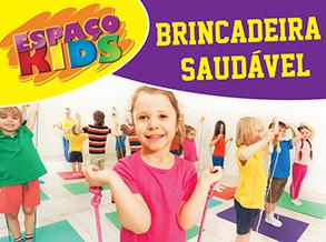 Circuito de atividade física diverte a criançada no Shopping Frei Caneca