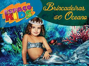 Brincadeiras do Oceano é tema da oficina infantil do Shopping Frei Caneca