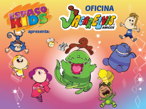 """Oficina de Férias com tema do musical """"Jacarelvis"""" chega ao Espaço Kids do Shopping Frei Caneca"""