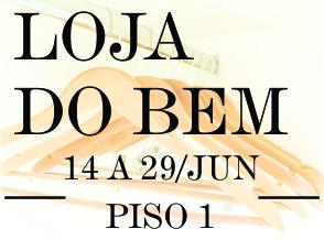 Shopping Frei Caneca inaugura Loja do Bem e presenteia quem doar