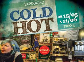 Shopping Frei Caneca inaugura exposição Cold Hot