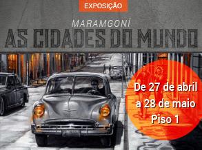 Shopping Frei Caneca inaugura exposição do artista plástico Maramgoní