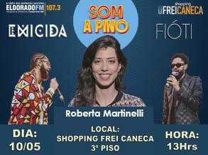 Rádio Eldorado e Shopping Frei Caneca recebem Emicida e Fioti para gravação do programa Som a Pino