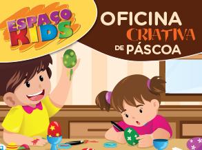 Páscoa do Shopping Frei Caneca tem oficina interativa para a criançada