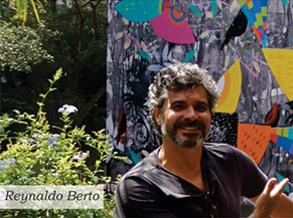 Shopping Frei Caneca tem obra gigante de Reynaldo Berto