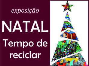 """Shopping Frei Caneca inaugura exposição """"Natal: Tempo de Reciclar"""""""