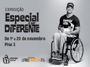 """Shopping Frei Caneca recebe exposição fotográfica """"Especial é Ser Diferente"""""""
