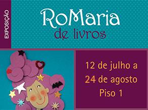 """Shopping Frei Caneca recebe exposição """"RoMaria de Livros"""""""