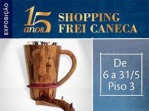 Shopping Frei Caneca comemora 15 anos com exposição inédita