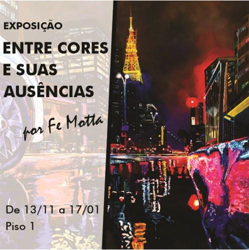"""Shopping Frei Caneca apresenta exposição """"Entre cores e suas ausências"""""""